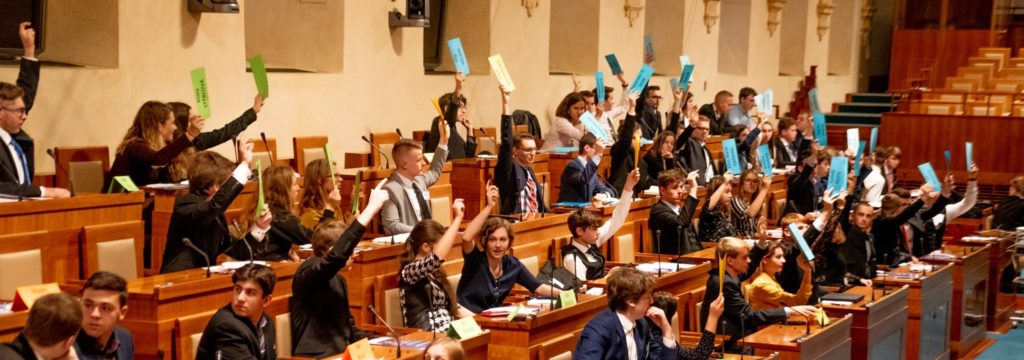 Simulace Evropského parlamentu